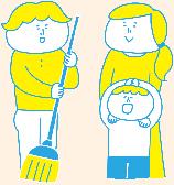 「お掃除」と障がい者労働の相性イメージ