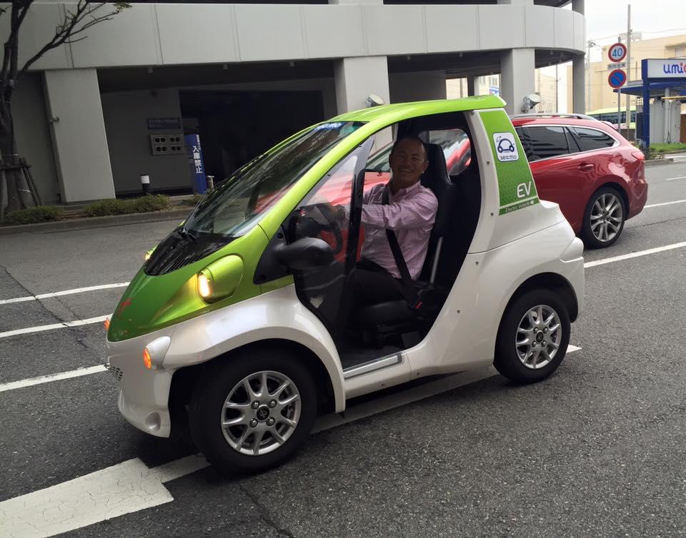 神戸市でニューモビリティ体験!ラフトレードにも有効か?